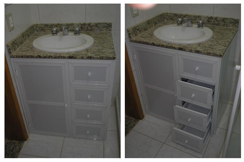 Design Aluminium Detalhe  Fechamento de pia de banheiro # Pia De Banheiro Em Blindex