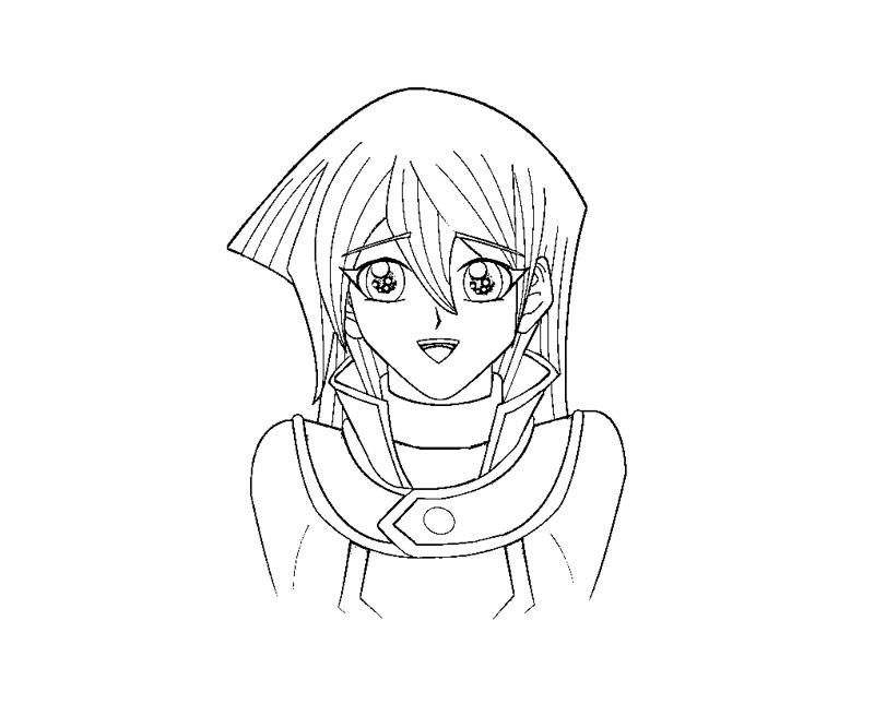 yugioh gx coloring pages - photo#25