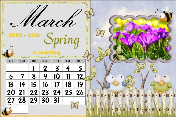 March 2016 Spring Desktop