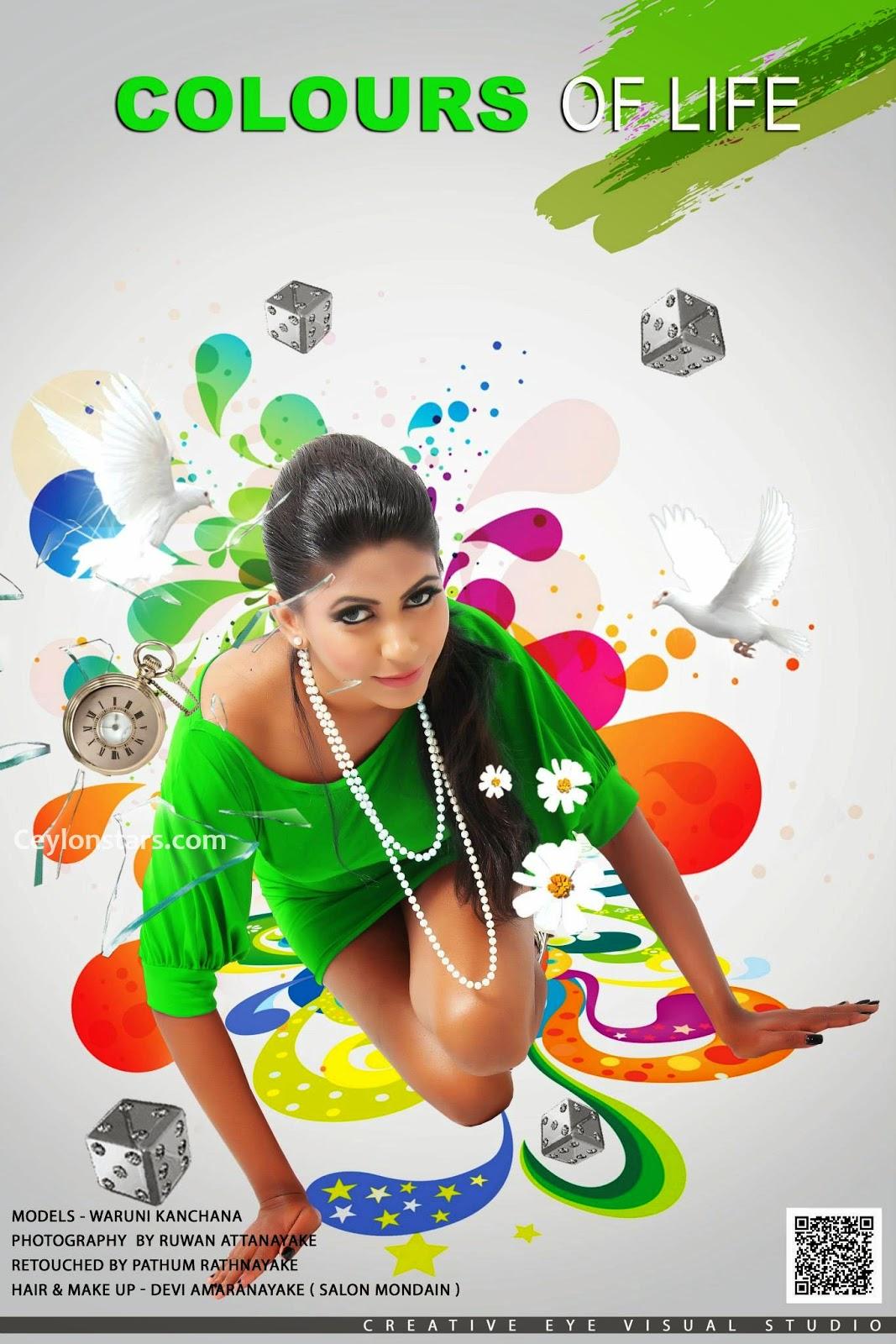 Waruni Kanchana green