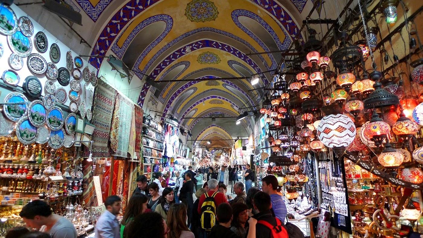 تعرف البازار الكبير في اسطنبول