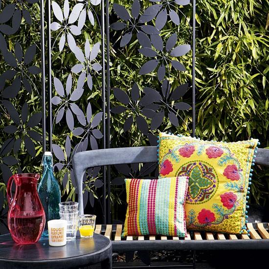 Stainless steel blog outdoor decorative metal panels for Indische einrichtungsideen