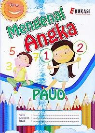 toko buku rahma: buku PAUD - MENGENAL ANGKA, pengarang tim romiz asiy, penerbit ra