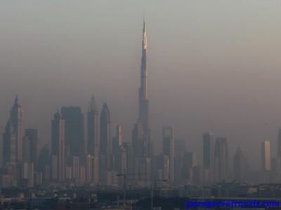 Burj Khalifa desde el Costa Fortuna