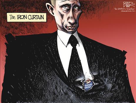 Iron Curtain Cartoons And Comics
