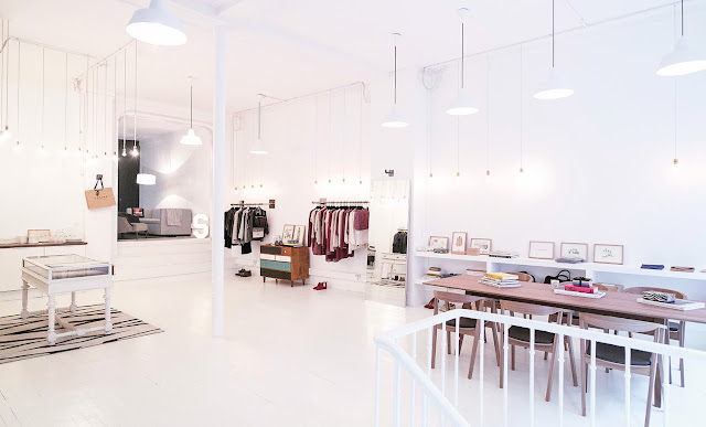 Nouveau showroom Sezane