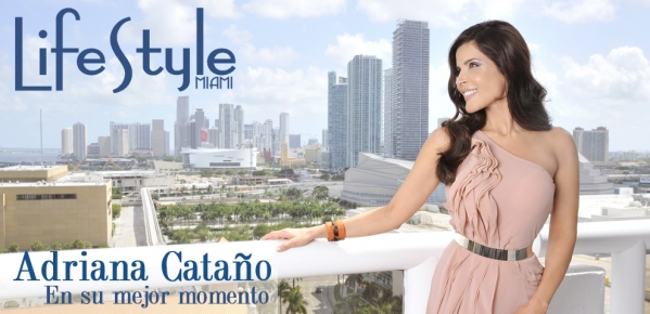 Actress Adriana Cataño Graces the Covers of Two Leading Latin Publications‏