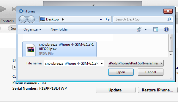 Final IOS 6.1.3 Jailbreak step