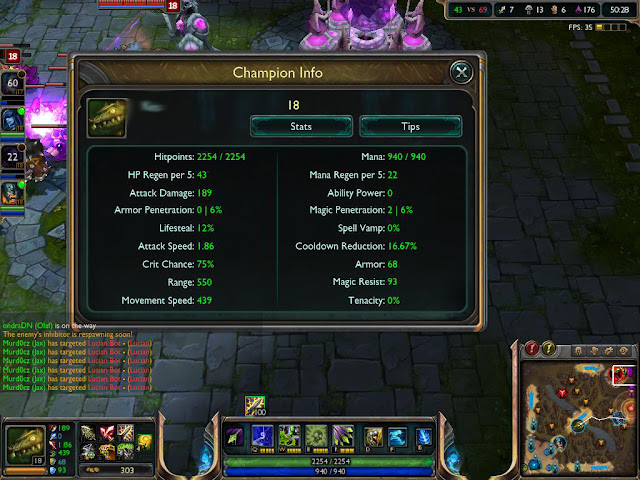 League of Legends - Twitch Champion Build Screenshot