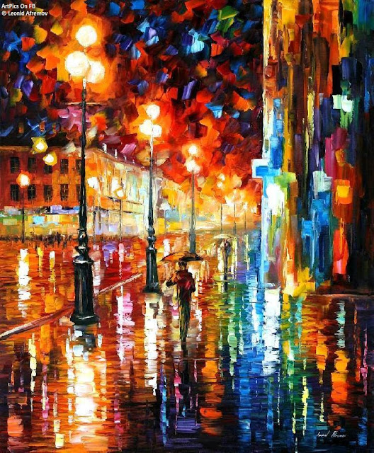 Leonid Afremov paintings