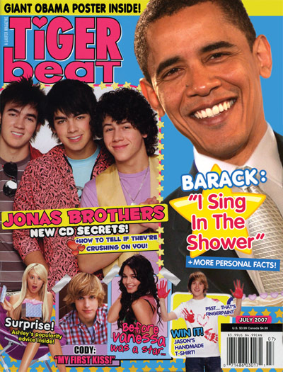 Tiger Beat magazine: November 2004 - Hilary Duff, Jesse McCartney, JoJo, Usher