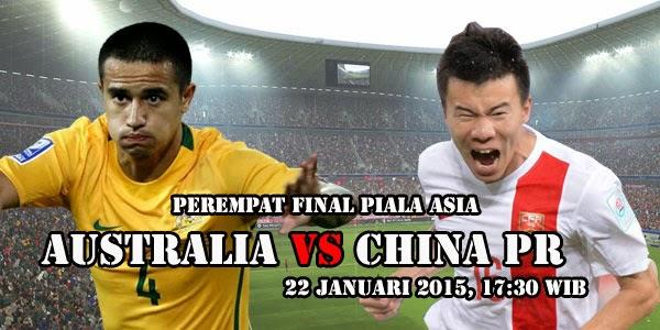 Piala Asia : Australia vs Tiongkok