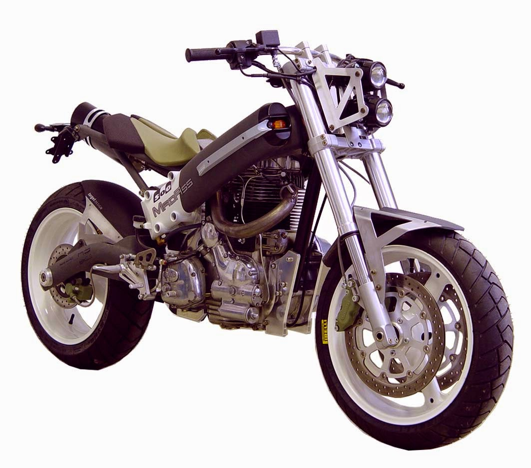 Sachs MadAss 500 Concept   Grease n Gas