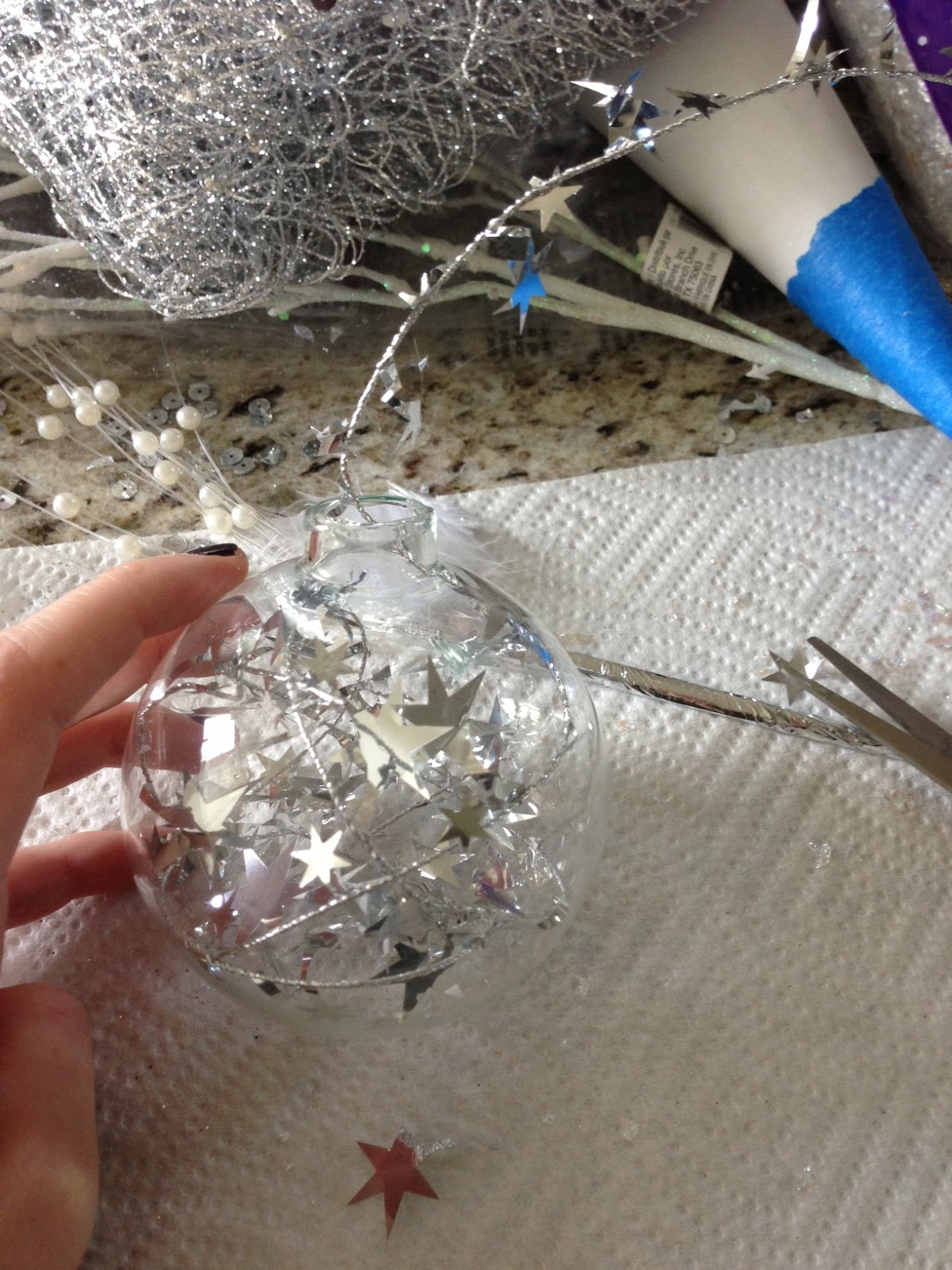 How to make your own christmas ornaments they great