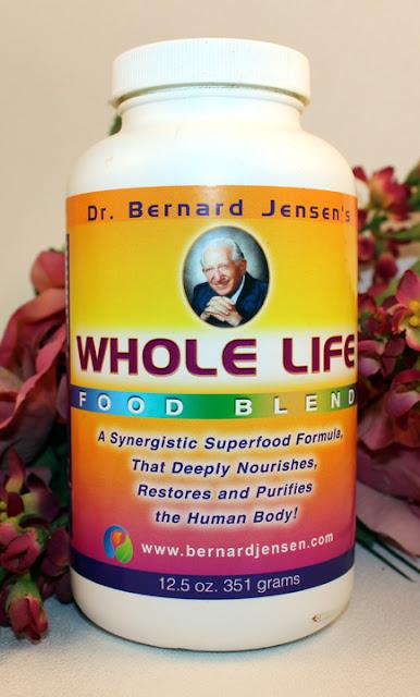 Dr. Bernard Jensen's Whole Life Super-food Formula