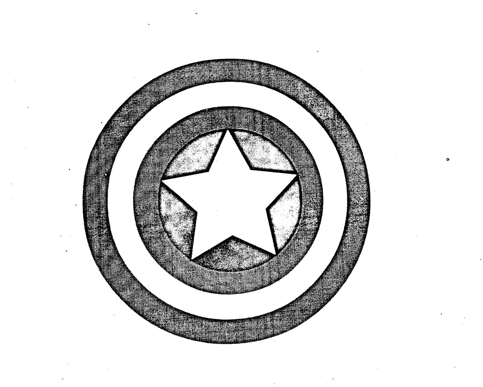 Dibujos Escudo Capitan America Para Colorear ~ Ideas Creativas Sobre ...