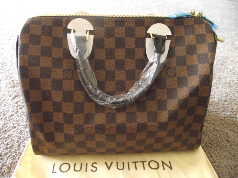 Louis Vuitton Speedy 30 Damier Ebene Replica