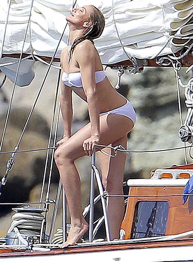 Cameron Diaz en bikini en St. Barts