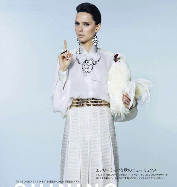 """The Terrier and Lobster: """"Shining Example"""" by Pierpaolo Ferrari for Vogue Nippon"""