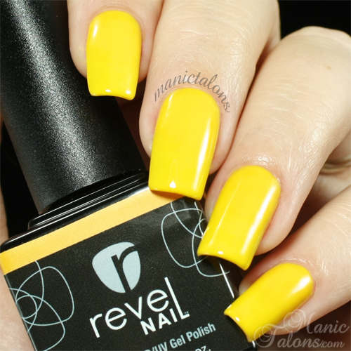Revel Nail Gel Polish Harvest Swatch