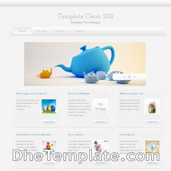 Super Clean blogger template. magazine style template blogger.