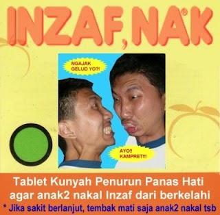 kumpulan foto gambar lucu slogan iklan obat obatan