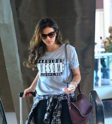 looks de aeroporto camiseta
