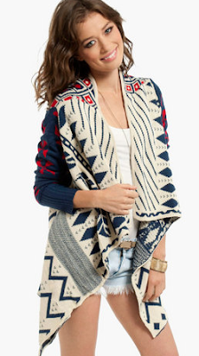 Navajo Dawn Cardigan Wild-Society