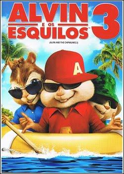 Alvin e Os Esquilos 3 – AVI Dual Áudio + RMVB Dublado