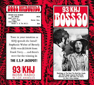 KHJ Boss 30 No. 158 - The Real Don Steele with Mick Jagger