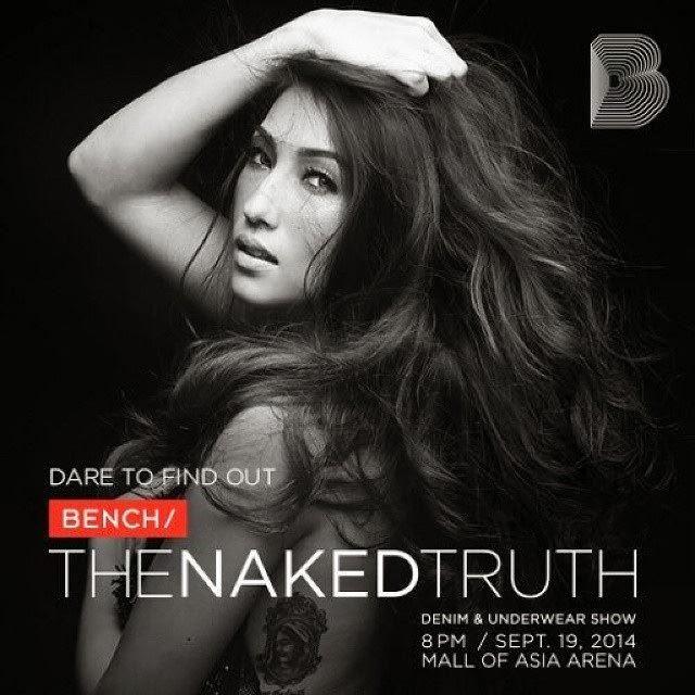 Solenn Heussaff for Bench: The Naked Truth Denim & Underwear Show