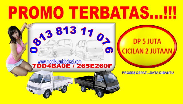 PROMO SUZUKI CARRY PICK UP DP MURAH