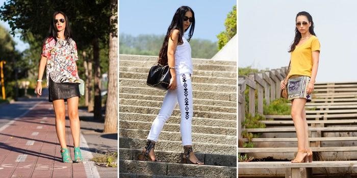 Falda etnica espejos - Blog Moda España