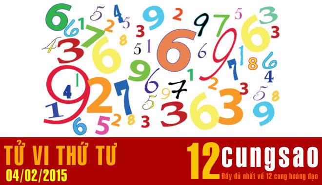 Tử vi Thứ Tư 4/2/2015 - 11 Thần Số hàng ngày
