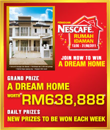 Peraduan Nescafe 'Rumah Idaman'
