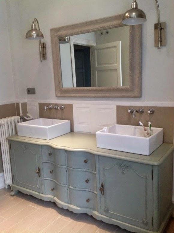 vintage baño