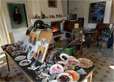 estudio pintura casa provenzal
