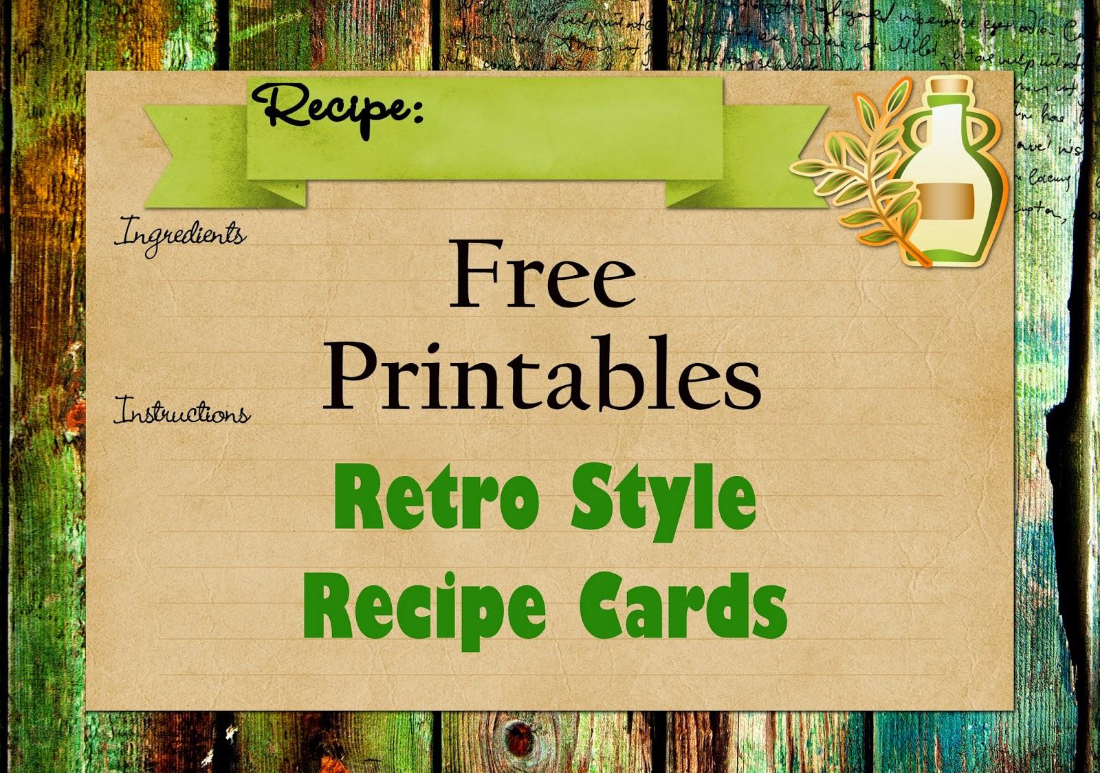 recipe card term