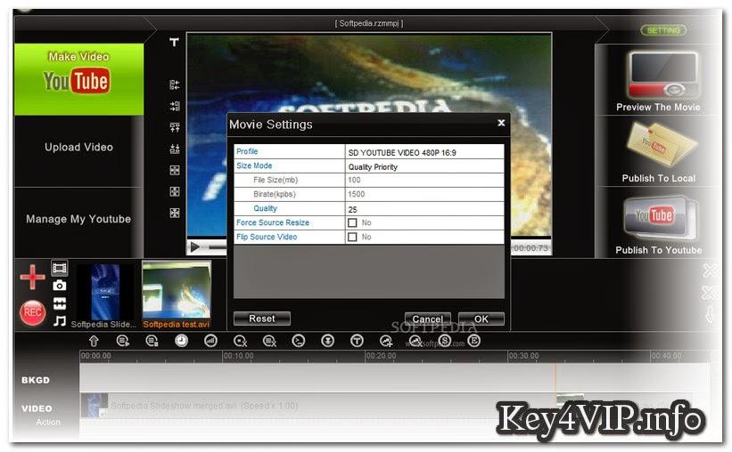 Youtube Movie Maker Platinum v10.5.9 Full Key,Phần mềm xử lý film từ Youtube