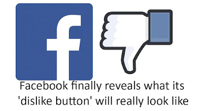 Facebook finally reveals what its 'dislike button' will really look like