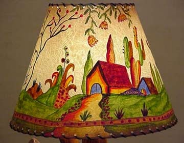 painting lampshade