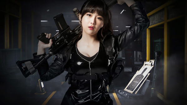 Hyunyoung Rainbow Black Squad