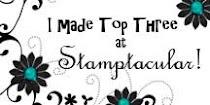 Stamptacular Challenge Top 3