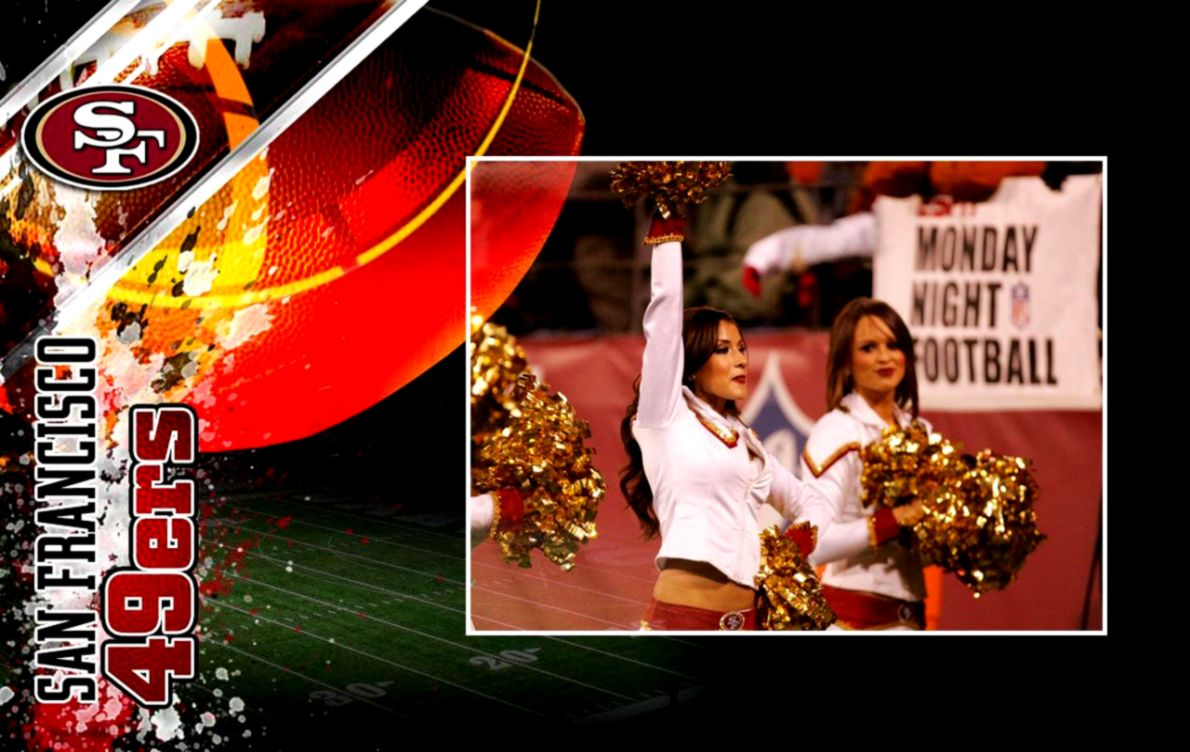 san francisco 49ers cheerleaders wallpaper 1280x800 photo