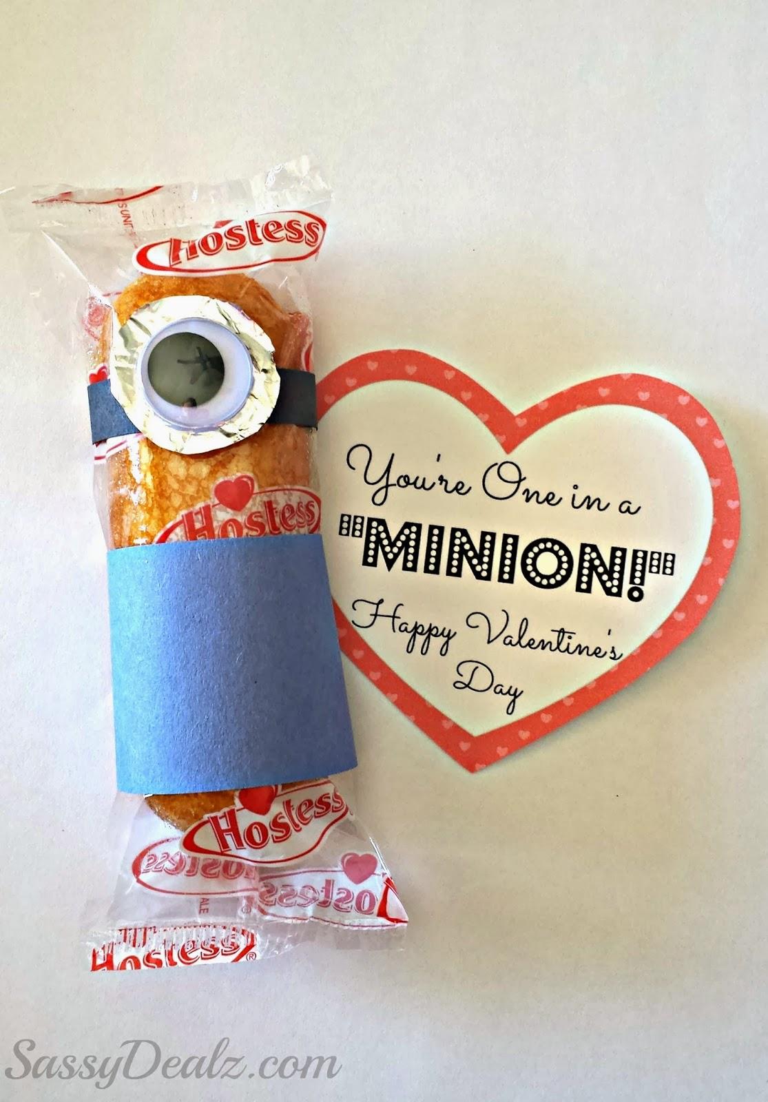 twinkie minion valentines day gift