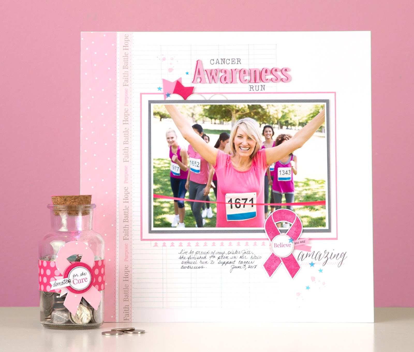 Ribbon Warrior (October Breast Cancer Awaremess)