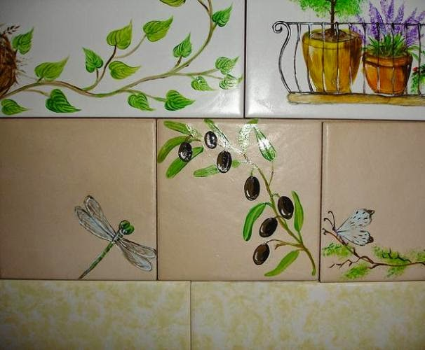 diy painting wall tiles