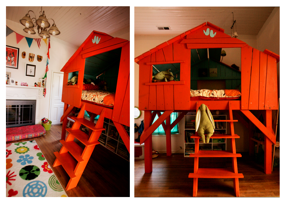 Tree House Loft Bed Plans