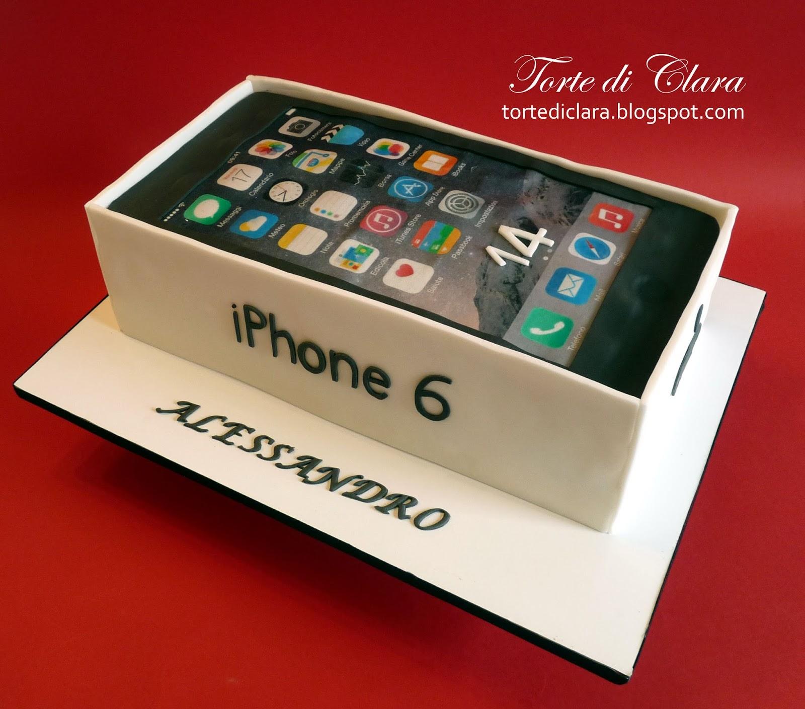 Torte di clara iphone cake 2 for Case a forma di u