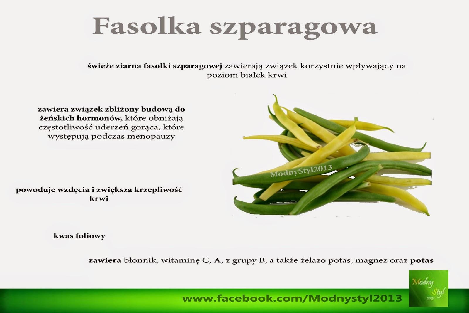 Cenne źródło kwasu foliowego - Fasolka szparagowa